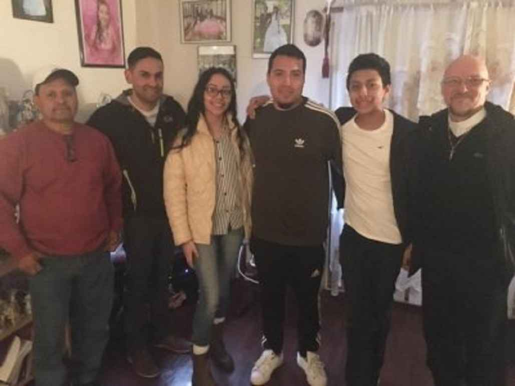 DACA recipient reunited with his family