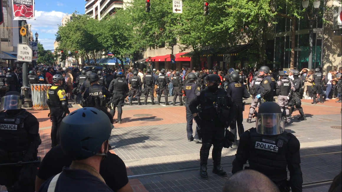 Police Reponse to the June 4th Protests in Portland