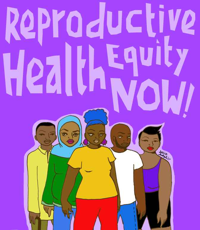 Reproductive Health Equity Now graphic logo