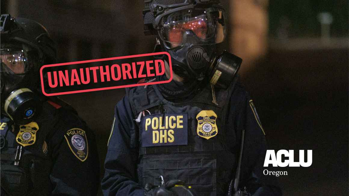 DHS is unauthorized