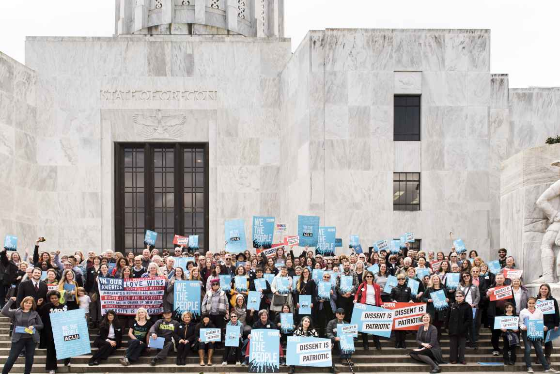 aclu volunteers at the state capitol